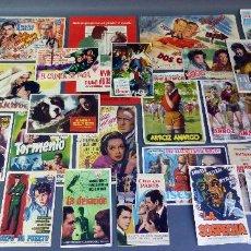 Cine: 30 PROGRAMAS MANO CINE ORIGINALES PELÍCULAS AÑOS 50 - 60 - 70 VER FOTOS ADICIONALES . Lote 58699974