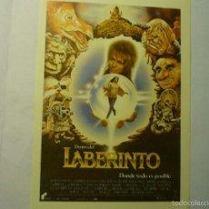 Cine: PROGRAMA MODERNO LABERINTO. Lote 58808871