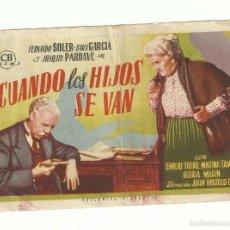 Cine: CUANDO LOS HIJOS SE VAN. Lote 59161250