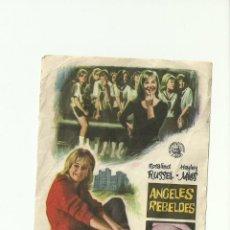 Cine: ANGELES REBELDES. Lote 59162990