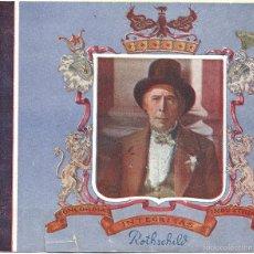 Cine: LA CASA DE ROTHSCHILD PROGRAMA DOBLE 20TH CENTURY FOX BORIS KARLOFF LORETTA YOUNG. Lote 59761420