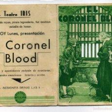 Cine: EL CORONEL BLOOD, CON FRANK CELLIER C/I.. Lote 59790004