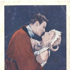 Cine: ORQUIDEAS SALVAJES PROGRAMA SENCILLO MGM GRETA GARBO LEWIS STONE CINE MUDO. Lote 59845660