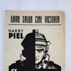 Cine: PROGRAMA DE CINE, ÚNICO - EL MUNDO ES MÍO / MASTER OF THE WORLD - HARRY PIEL - CINE VICTORIA, 1934. Lote 59904223
