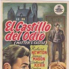 Cine: EL CASTILLO DEL ODIO. Lote 60004875