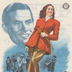 Cine: EL CENTAURO. SENCILLO DE ORO LEY FILMS. CINE MARI - LEÓN 1949. ¡IMPECABLE!. Lote 60053471