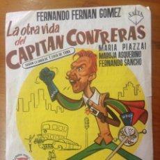 Cine: PROGRAMA DE MANO CINE ESPAÑOL CON PUBLICIDAD. Lote 60343971