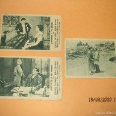 Cine: 3 PROGRAMAS DE CINE TARJETA CARTÓN *CONOCES A TU MUJER* EN TEATRO FERRE DE IBI - AÑO 1930S.. Lote 60527651