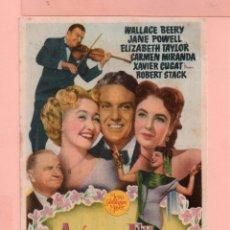 Cine: CINE ASI SON ELLAS WALLACE BEERY JANE POWELL CINE TEATRO FORTUNY REUS. Lote 60609231