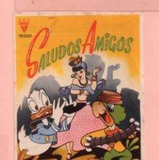 Cine: CINE SALUDOS AMIGOS POR WALT DISNEYL CINE GARCILASO . Lote 60627879