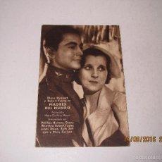Cine: PROGRAMA DE CINE TARJETA CARTÓN *MADRES DEL MUNDO* EN TEATRO MARIA LUISA - AÑO 1936. Lote 60889479