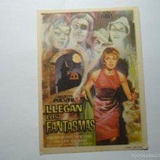 Cine - PROGRAMA LLEGAN LOS FANTASMAS.-LISELOTTE PULVER - 61414143
