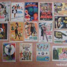 Cine: LOTE 15 FOLLETO, FOLLETOS, PROGRAMAS CINE DIFERENTES -ORIGINALES (AÑOS 60-70)- VER 9 FOTOS- R-6722. Lote 93794188