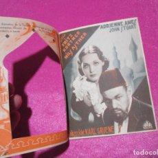 Cine: ABDUL HAMID PROGRAMA CINE TROQUELADO AÑOS 50, EXCELENTE ESTADO.DE PLANCHA PEQUEÑO CORTE,. Lote 61696224