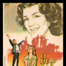 Cine: FOLLETO DE MANO, EL CIELO Y LA TIERRA, LIBERTAD LEMARQUE.. Lote 61759884