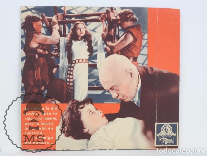 Cine: Programa de Cine Doble - Las Manos de Orlac - Peter Lorre - Metro Goldwyn Mayer, 1936 - Foto 3 - 61805836