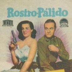 Cine: ROSTRO PALIDO (CON PUBLICIDAD). Lote 62019384