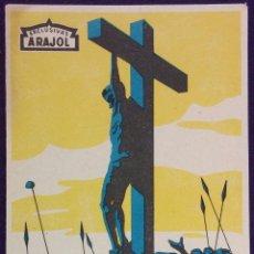 Cine: PROGRAMA DE CINE ORIGINAL. CHRISTUS. ARAJOL.. Lote 62144180