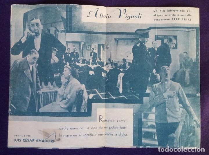 Cine: PROGRAMA DE CINE ORIGINAL. DOBLE. EL POBRE PEREZ. - Foto 2 - 62253212