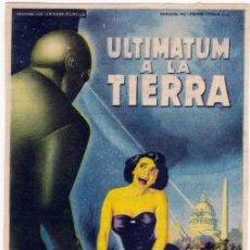 ULTIMATUM A LA TIERRA (Con publicidad)