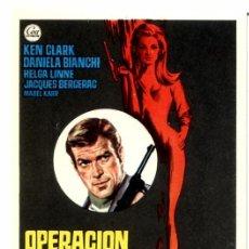 Cine: OPERACION LADY CHAPLIN (FOLLETO PROGRAMA DE MANO ORIGINAL SIN PUBLICIDAD). Lote 93823647
