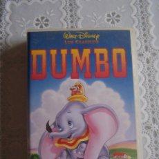 Cine: VHS DISNEY. DUMBO.. Lote 62458404