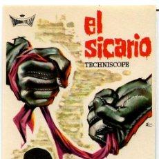 Cine: EL SICARIO (FOLLETO PROGRAMA DE MANO ORIGINAL SIN PUBLICIDAD) SYLVA KOSCINA. Lote 63439627