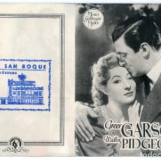 Cine: DE CORAZON A CORAZON 1941 (FOLLETO DE MANO ORIGINAL CON PUBLICIDAD CINE SAN ROQUE LAS PALMAS). Lote 62737580
