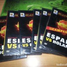 Folhetos de mão de filmes antigos de cinema: 7 DVDS COPA MUNDIAL SUDAFRICA 2010-PRECINTADOS. Lote 62767292