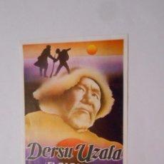 Cine: FOLLETO DE CINE DERSU UZALA. EL CAZADOR. AKIRA KUROSAWA. TDKP8. Lote 62813604
