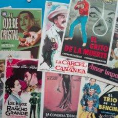 Cine: LOTE DE 10 PROGRAMAS DE MANO. Lote 63032387