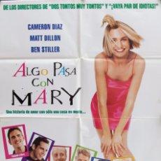 Cine: CARTEL DE CINE ALGO PASA CON MARY. 1998. Lote 63998275