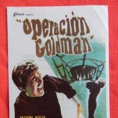 Cine: OPERACION GOLDMAN, IMPECABLE SENCILLO, ANTHONY ASHLEY DIANA LORYS, CON PUBLI COLISEUM. Lote 64044095