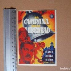 Cine: CAMPANA DE LA LIBERTAD- 1947 -EXCELENTE. Lote 65098251