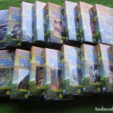 Cine: 16 DOCUMENTALES DE EL HOMBRE Y LA TIERRA EN VHS. Lote 65251899