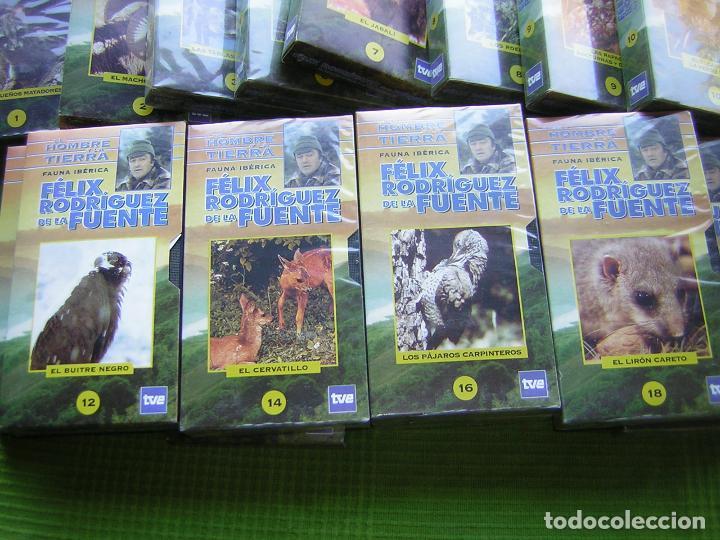 Cine: 16 DOCUMENTALES DE EL HOMBRE Y LA TIERRA EN VHS - Foto 4 - 65251899