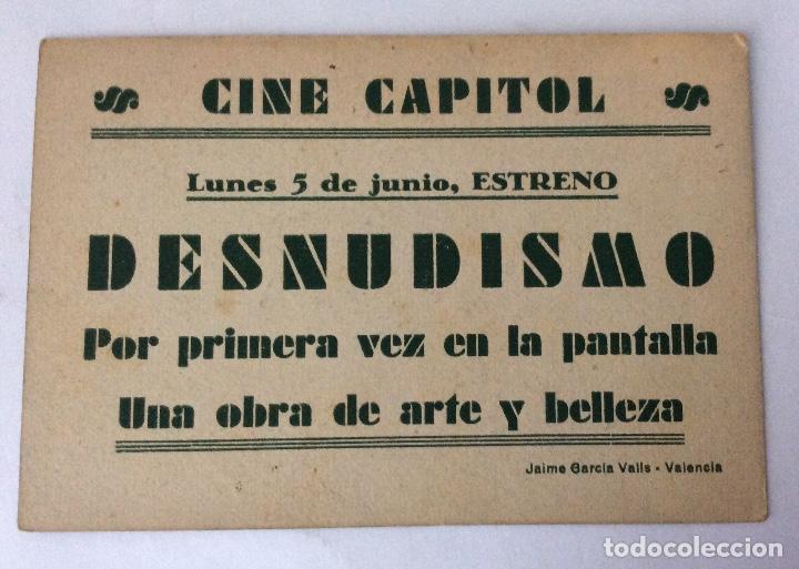 Cine: PROGRAMA CINE. NUDISMO INTEGRAL. CHÁVEZ HERMANOS. CON CINE. - Foto 2 - 65771954
