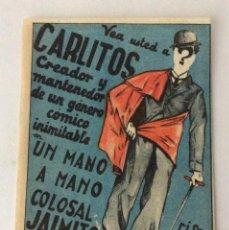 Cine: PROGRAMA CINE . MANO A MANO CARLITOS Y EL COLOSAL JAIMITO. SIN CINE. PONE PRÓXIMA SEMANA.. Lote 65782346
