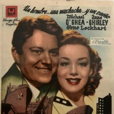 Cine: EL HOMBRE DE SAN FRANCISCO- IDEAL CINEMA DE TÁRREGA (LÉRIDA) JUNIO 1946. Lote 65865610