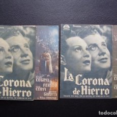 Cine: LA CORONA DE HIERRO, GINO CERVI, VARIANTE. Lote 66028342