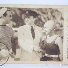 Cine: PROGRAMA DE CINE / TARJETA FOTOGRAMA - A TODA VELOCIDAD - METRO-GOLDWYN-MAYER - AÑO 1933. Lote 66191810