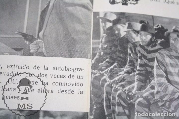 Cine: Programa de Cine Doble - Soy un Fugitivo - Paul Muni - Warner Bros / First National - Año 1933 - Foto 3 - 66220198