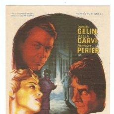 Cine: VOLVERÉ A KANDARA - DANIEL GELIN, BELLA DARVI, FRANÇOIS PERIER - DIRECTOR VICTOR VICAS - SOLIGÓ. Lote 67226805