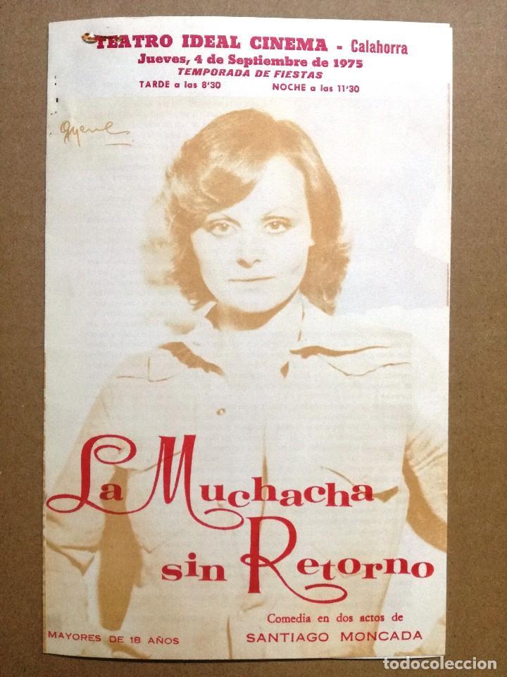Cine: LA MUCHACHA SIN RETORNO.COMPAÑIA ROCIO DURCAL.FOLLETO CONTRATO Y SALARIOS DE LA COMPAÑIA - Foto 2 - 67254057