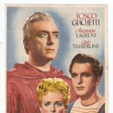 Cine: EL CARDENAL - FOSCO GIACHETTI, JAQUELINE LAURENT, CARLO TAMBERLINI - DIRECTOR LUIGI ZAMPA. Lote 67310601