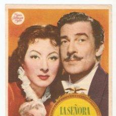 Cine: LA SEÑORA PARKINGTON - GREER GARSON, WALTER PIDGEON - DIRECTOR TAY GARNETT - MGM. Lote 67313521