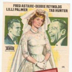 Cine: SU GRATA COMPAÑÍA - FRED ASTAIRE, DEBBIE REYNOLDS, LILLI PALMER, TAB HUNTER - JANO. Lote 67441505