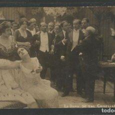 Cine: LA DAMA DE LAS CAMELIAS - BERTINI - TARJETA POSTAL -VER FOTOS -(C-3056). Lote 67845905
