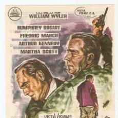 Cine: HORAS DESESPERADAS - HUMPHREY BOGART, FREDRIC MARCH, ARTHUR KENNEDY, MARTHA SCOTT - WILLIAM WYLER. Lote 67925189