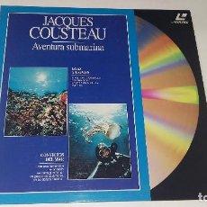 Cine: JACQUES COUSTEAU-AVENTURAS SUBMARINA EN LASER DISC.ISLAS ANDAMAN- CONVICTOS DEL MAR. Lote 68395409